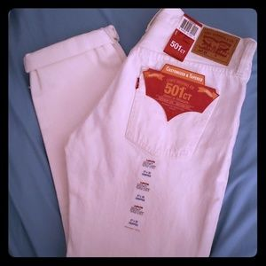 Brand New Levi 501 Cropped Jeans 27×32